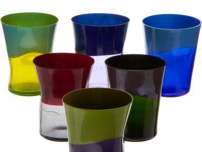 Tęczowe szklanki