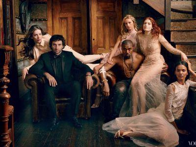 Muzy Givenchy w Vogue