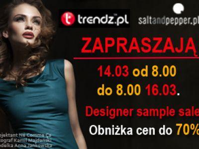 """Saltandpepper.pl oraz portal trendz.pl zapraszają na  """"Modę w zasięgu myszy"""""""