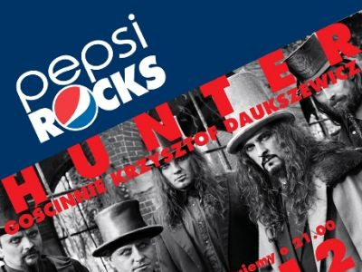 PEPSI ROCKS! presents Hunter