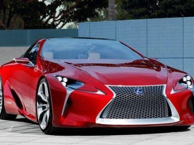 Nowy Lexus z napędem hybrydowym