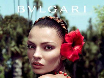 Carola Remer twarzą perfum Bvlgari