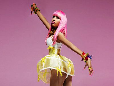 Nicki Minaj i jej alter ego.