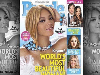 Beyonce najpiękniejszą kobietą świata 2012!