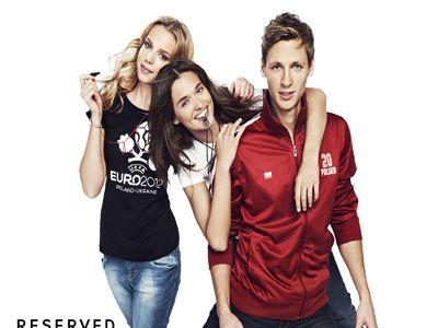 Kolekcja Reserved na Euro 2012