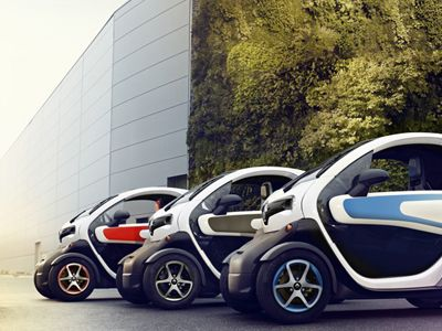 Renault Twizy - elektryczny maluch