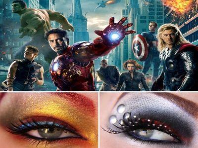 Makijaż super-bohaterów