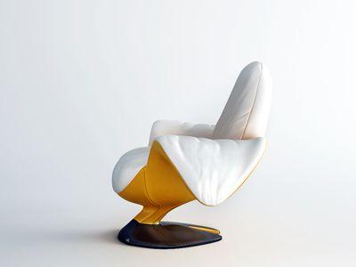 Bananowe krzesło