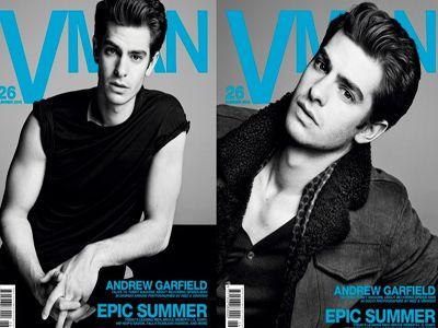 Andrew Garfield dla V Man magazine