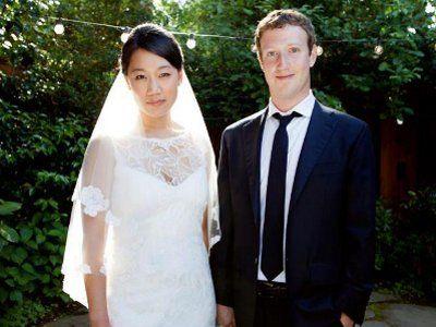 Ślub założyciela portalu Facebook