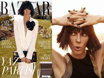 Klasyka w najnowszym Harper′s Bazaar