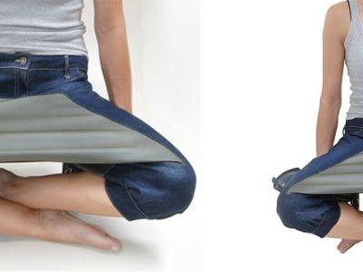 Jeansowy stolik i designerska rewolucja