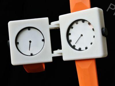 Podwójny zegarek
