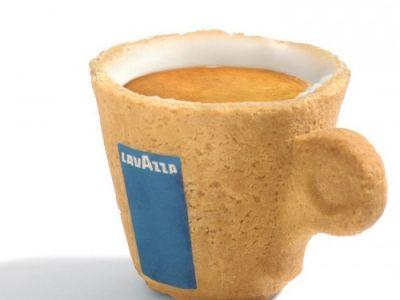 Cookie Cup - jadalne kubeczki od Lavazzy