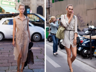 Shirt-dress – trendy lato 2012