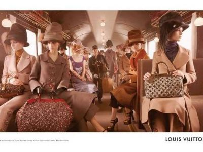 Louis Vuitton i wiktoriański trend
