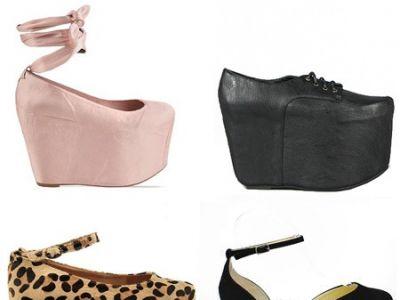 Flatforms – trendy mody jesień 2012