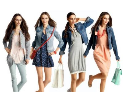Kurtki jeansowe – trendy lato 2012