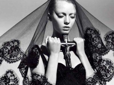 Prowokacja religijna w modzie