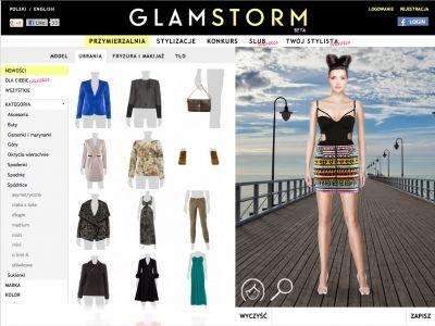 GLAMSTORM – wirtualny stylista online