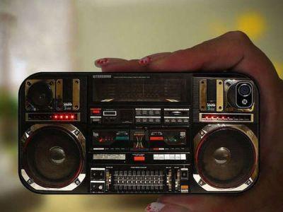 Ghetto Blaster – gadżety iPhone