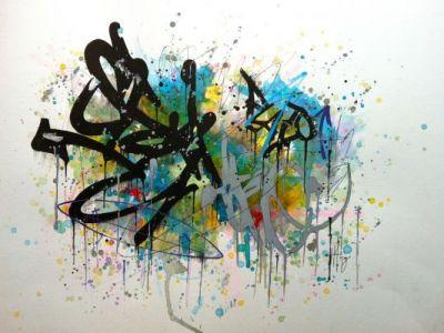 Moda na graffiti
