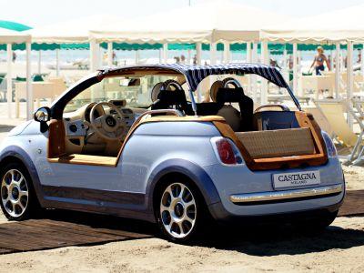 Fiat na plażę