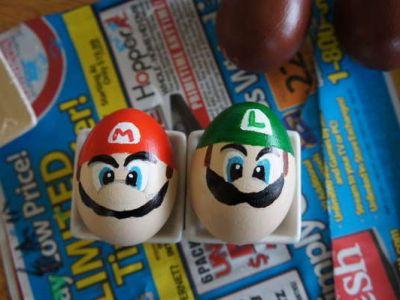Wielkanocne jajka Super Mario