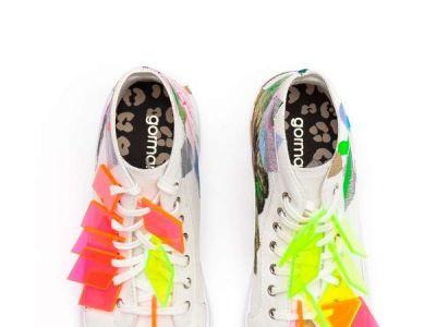 Artystyczne sneakersy