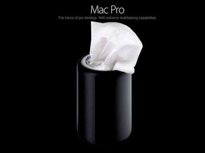 Mac Pro z ironią