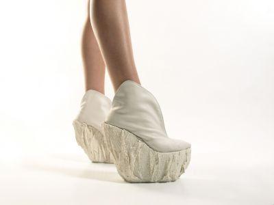 Porcelanowe buty