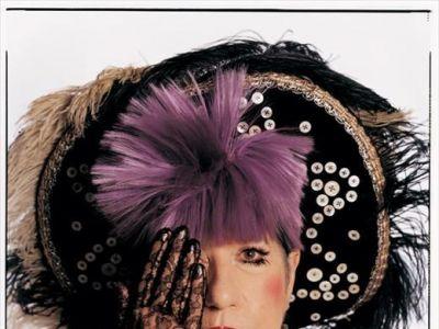 Anna Piaggi i jej kapelusze