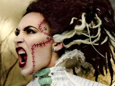 Kontrowersyjny make up hitem podczas Halloween