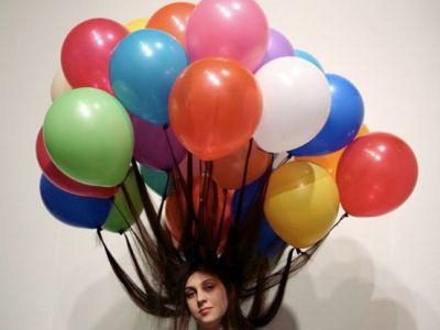 Instalacje z balonów