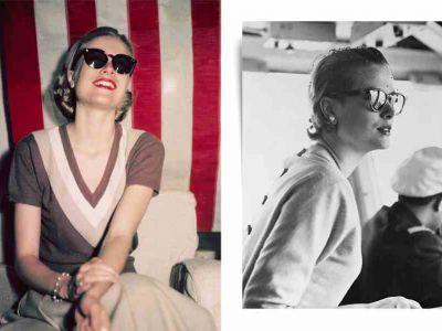 Stylizacje Grace Kelly