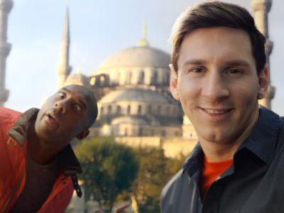 Kobe Bryant i Lionel Messi zaskakują