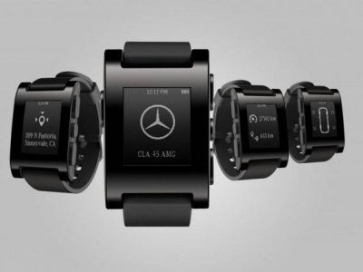 Smartwatch Mercedes Pebble