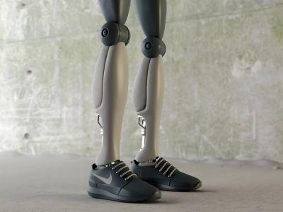 Sneakersy dla robota