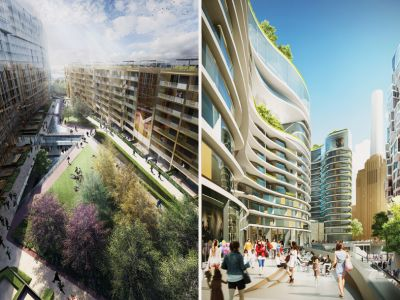 Frank Gehry i Norman Foster – wspólny projekt