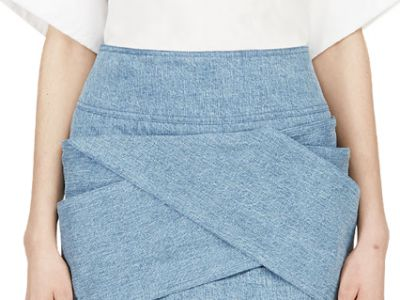 Trendy spódnice z jeansu