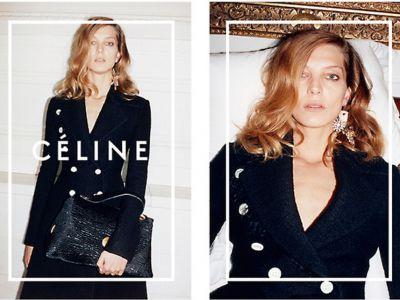 Daria Werbowy twarzą kampanii Céline