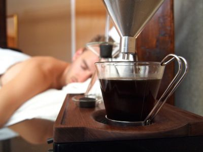 Kawowy budzik