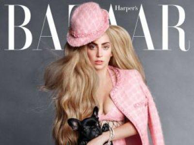Lady Gaga w Harper′s Bazaar
