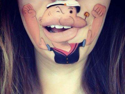Bajkowy make-up