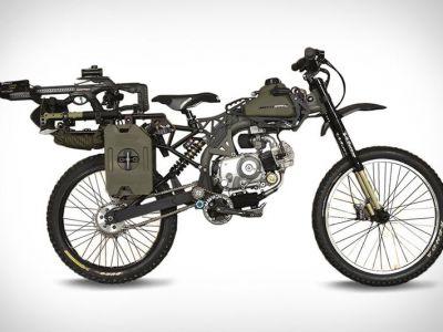Motorower na wypadek apokalipsy