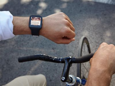 Modne zegarki SONY