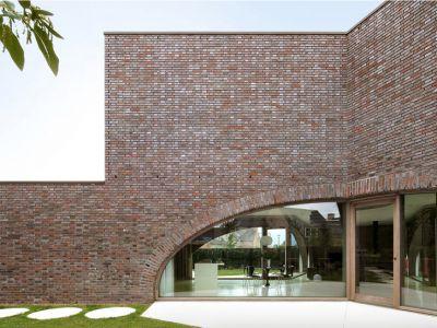 Murowany dom Dieter de vos architecten