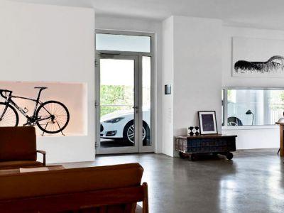 Apartament z widokiem na auto