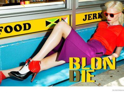 Kolorowe lata 80. w Blank Magazine
