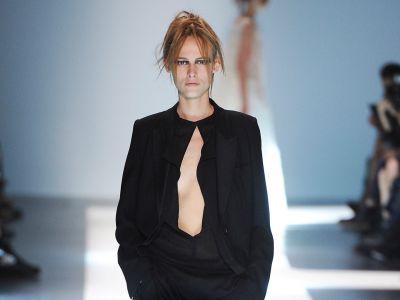 Ann Demeulemeester kolekcja wiosna lato 2015